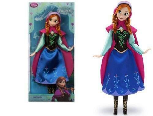 Bambola classica Anna di Frozen - Il Regno di Ghiaccio
