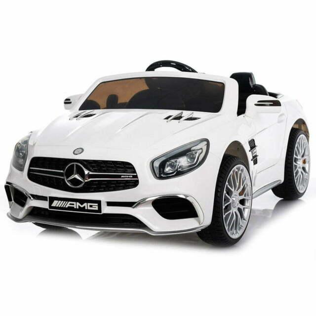 Macchina Elettrica Per Bambini 12v Mp4 Mercedes Sl65 Amg