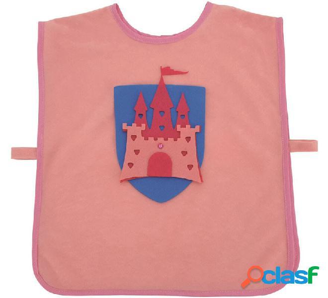 Bavaglino medievale per bambina Pink Princess