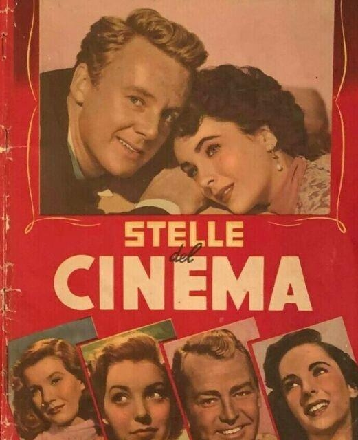 """Cerco: Album figurine Lampo"""" Stelle del Cinema"""""""
