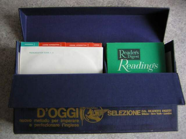 Corso d'inglese Reader's Digest anni '60