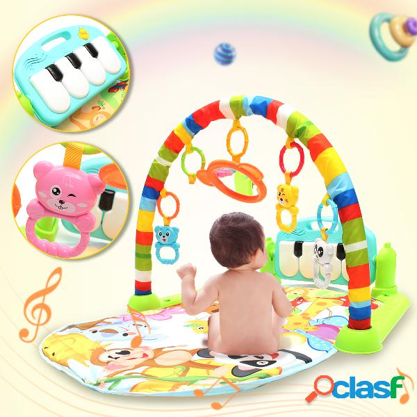 Foot Play Piano Musical Lullaby Baby Activity Tappetino Gym