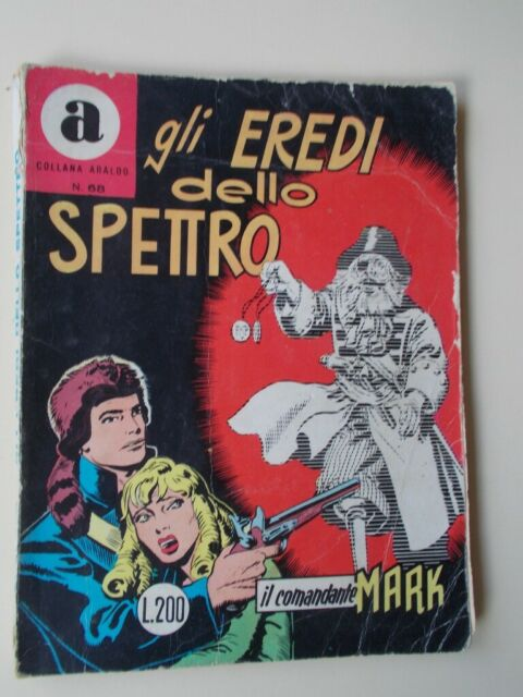 IL COMANDANTE MARK collana Araldo n.68 Gli Eredi dello