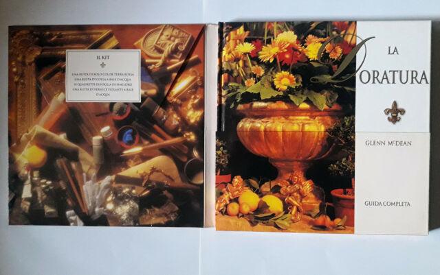 LIBRI ARTE La doratura Guida completa kit materiali Glenn