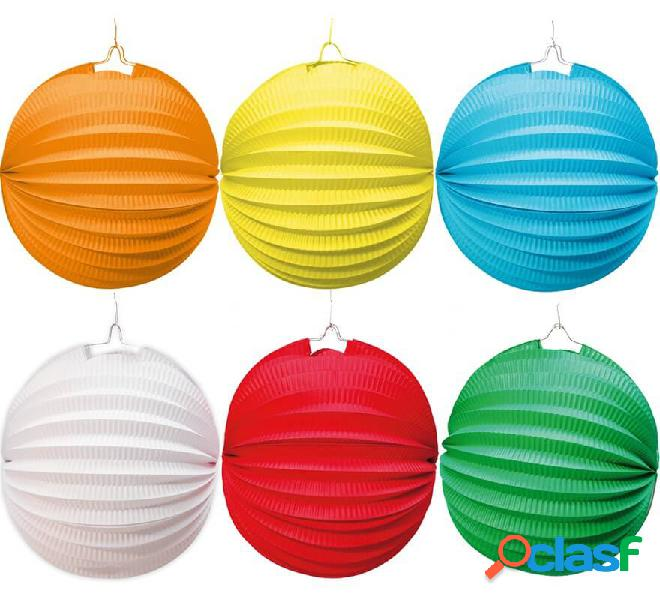 Lanterna da 20 cm per decorare in vari colori