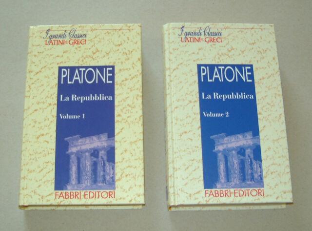 PLATONE - La Repubblica Vol. 1 & 2