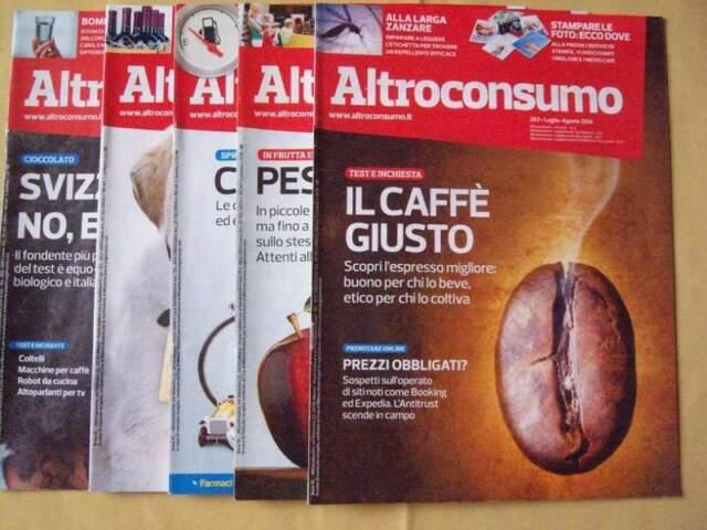 Riviste Altroconsumo, La Manovella, Touring
