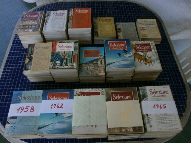 SELEZIONE dal Reader's Digest - Anni '60: ANNATE COMPLETE