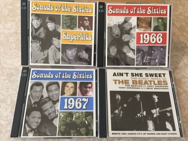 Sound of the sixties music collection (7 cd audio)