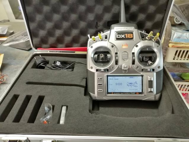 radiocomando Spektrum dx 18 perfetta + ricevente 12ch
