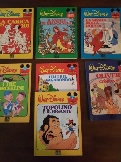 19 volumi Grandi Classici Walt Disney