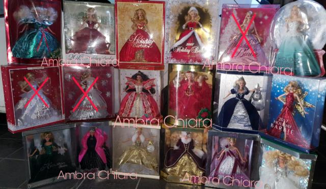 Barbie Holiday e varie nrfb