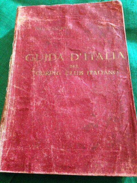 Guida d'italia TCI italia centrale terzo volume