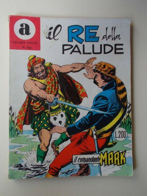 """IL COMANDANTE MARK collana Araldo n.66""""Il Re della"""