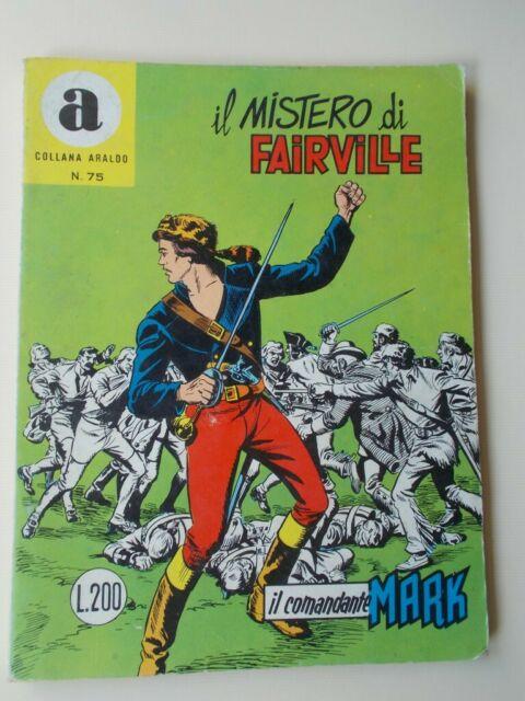 IL COMANDANTE MARK collana Araldo n.75 Il Mistero di