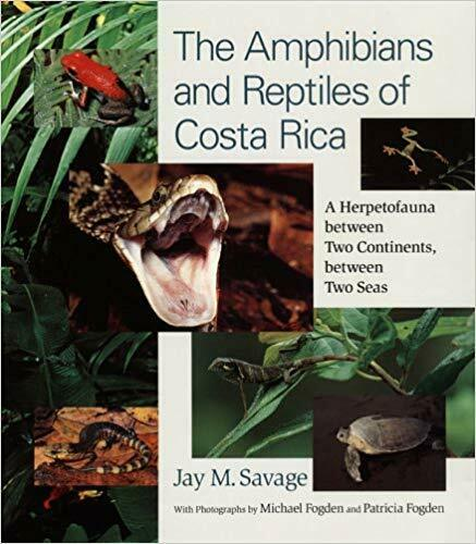 The Amphibians and Reptiles of Costa Rica di Jay M.Savage
