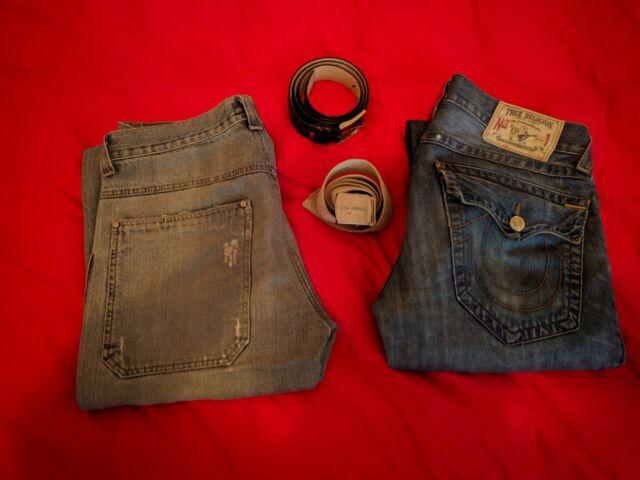 Coppia di jeans da uomo + cinte in regalo