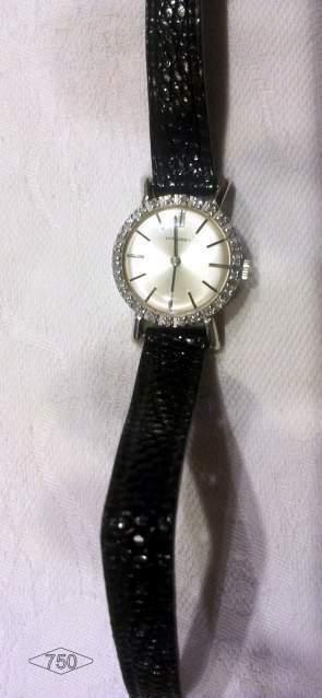 Orologio Longines Vintage oro 18kt e diamanti