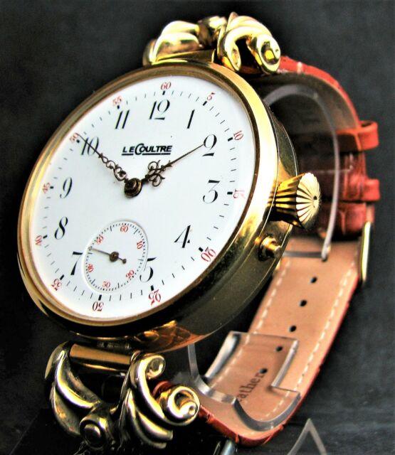 Prezioso orologio vintage le coultre - porcellana -
