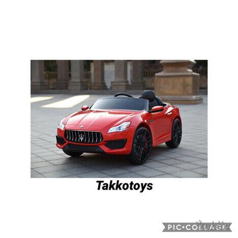 Auto macchina elettrica Maserati quattroporte R