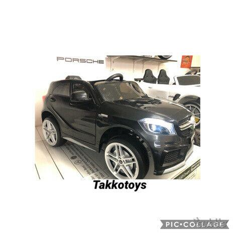 Auto macchina elettrica Mercedes CLASSE A amg nero