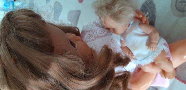 Bambola SEBINO titti mamma di cialdino