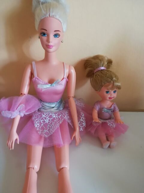 Barbie ballet e kelly anni 90