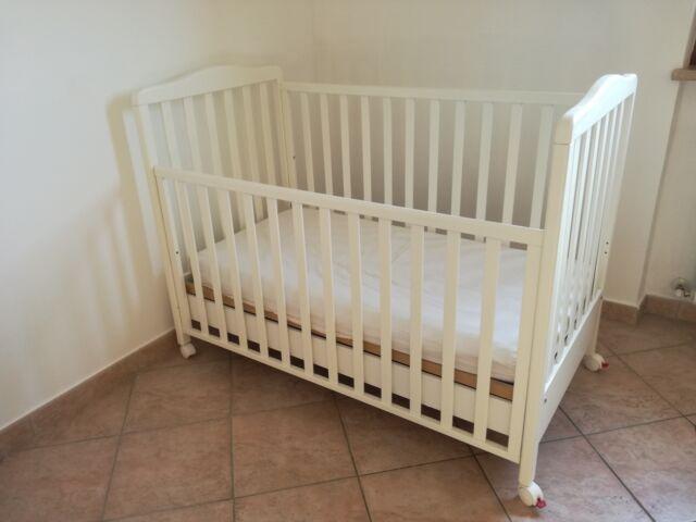 Lettino Prenatal bianco usato