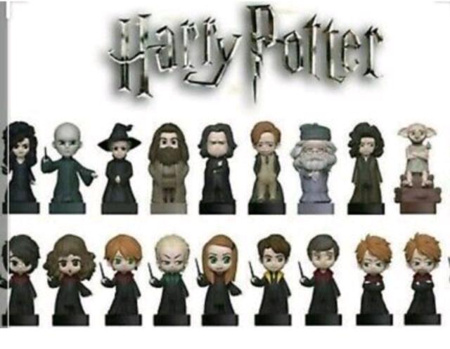 WIZZIS Harry Potter Esselunga - Serie completa