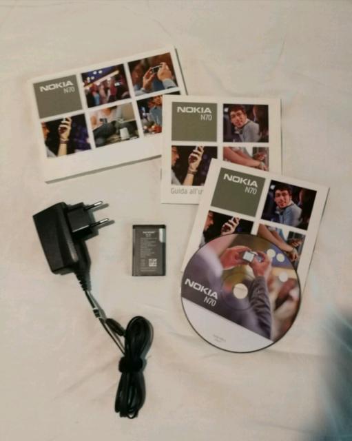 Batteria BL-C5 e manuali per Nokia N70