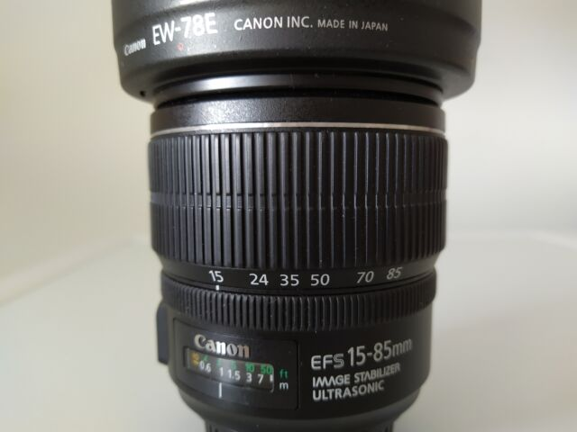 Canon EF-S mm F/ IS USM