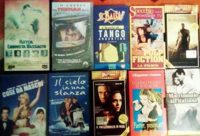 LOTTO N. 50 cassette film VHS (Blocco 2)