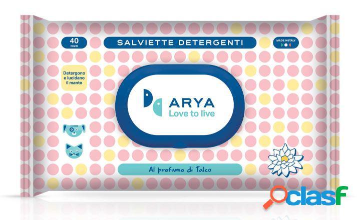 Arya love to live salviette detergenti pezzi 40 al profumo
