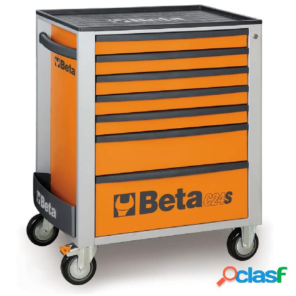 Beta Tools Carrello porta attrezzi C24S 7/O in acciaio