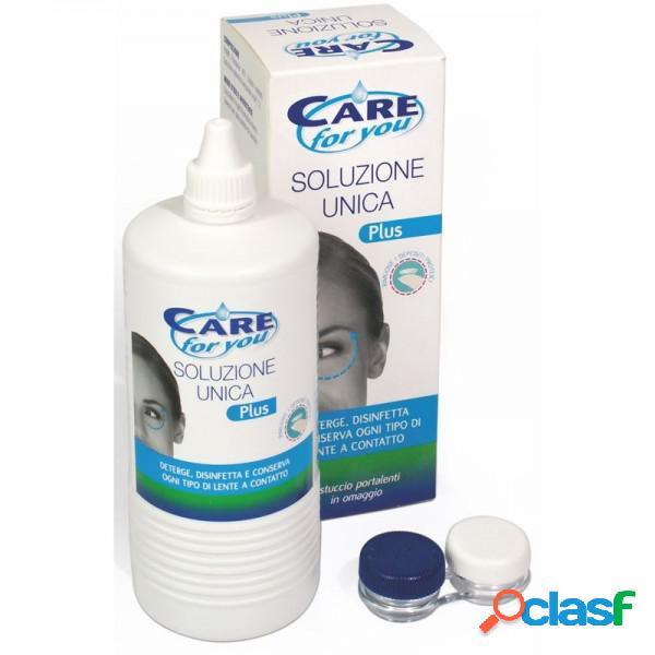 Care For You Soluzione Unica Plus Deterge, Disinfetta, E