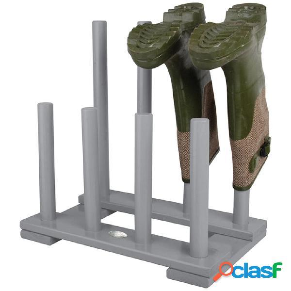 Esschert Design CF48G Supporto per stivali grigio