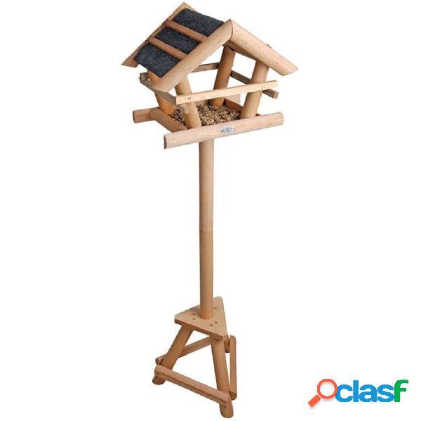 Esschert Design FB255 Mangiatoia per uccelli con tetto di