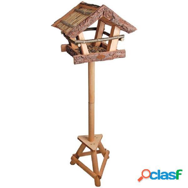 Esschert Design FB256 Mangiatoia per uccelli con tetto di