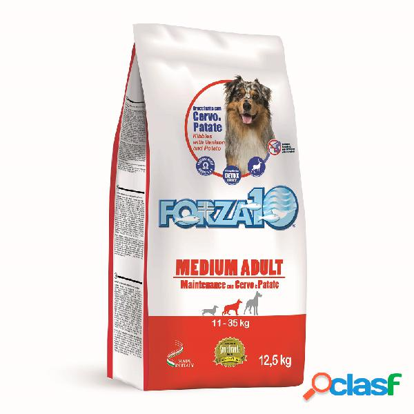 Forza10 Medium Adult Maintenance con Cervo e Patate 12,5 Kg.