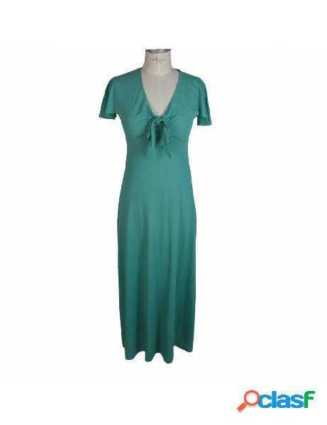 Franca Esz Wunster Imec Vestito Vintage Celeste