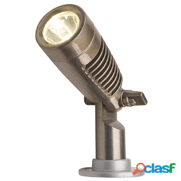 Garden Lights Faretto a LED Minus Alluminio Brunito