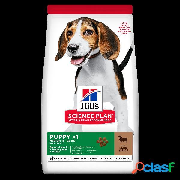 Hill's Science Plan Medium Puppy con Agnello e Riso 2,5 kg