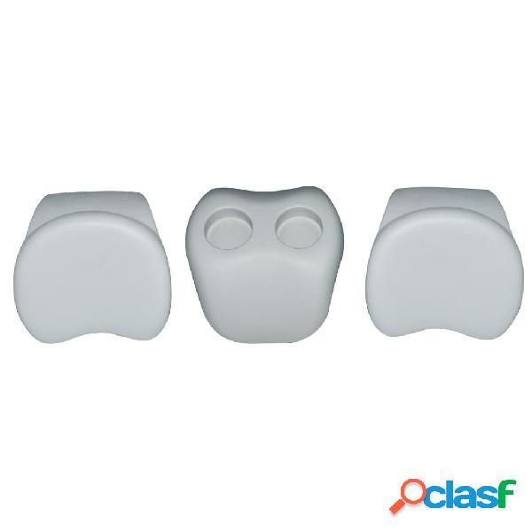 MSpa Set Comfort 2 Poggiatesta e 1 Porta Bicchieri B0301350