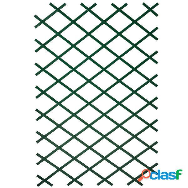 Nature Pergolati da Giardino 2 pz 100x200 cm in PVC Verde