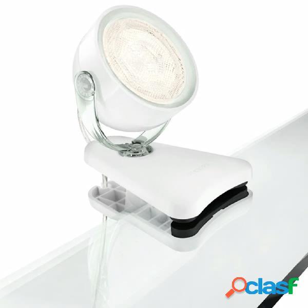 Philips Faretto a Clip LED myLiving Dyna 3 W Bianco