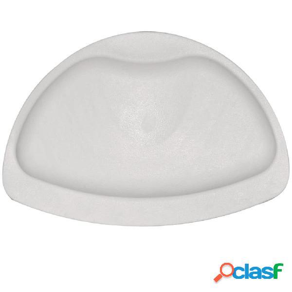 RIDDER Poggiatesta in Gomma per Vasca da Bagno Bianco 68601