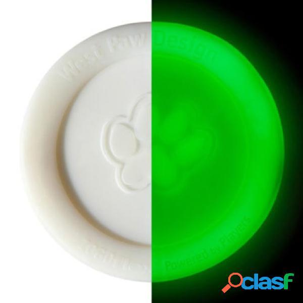 Zogoflex Frisbee per Cani s'Illumina al Buio Zisc Taglia L