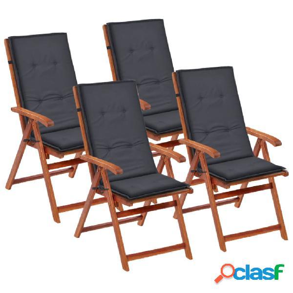 Cuscini per sedia 4 pz ikea admete | Posot Class