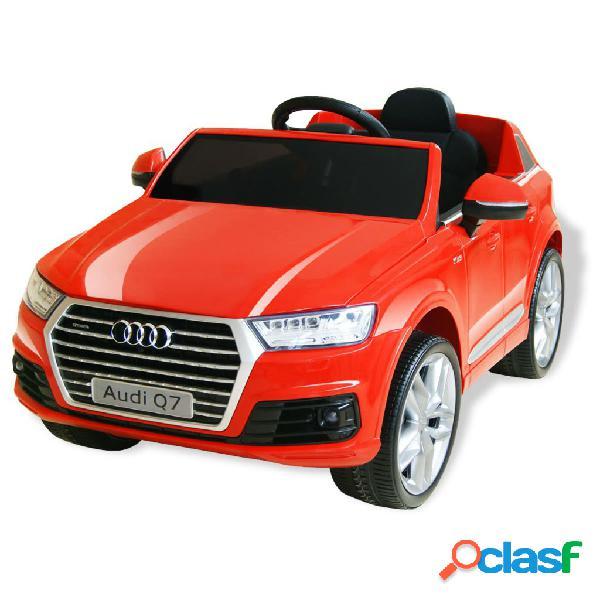 vidaXL Automobile Elettrica Cavalcabile Audi Q7 Rosso 6 V