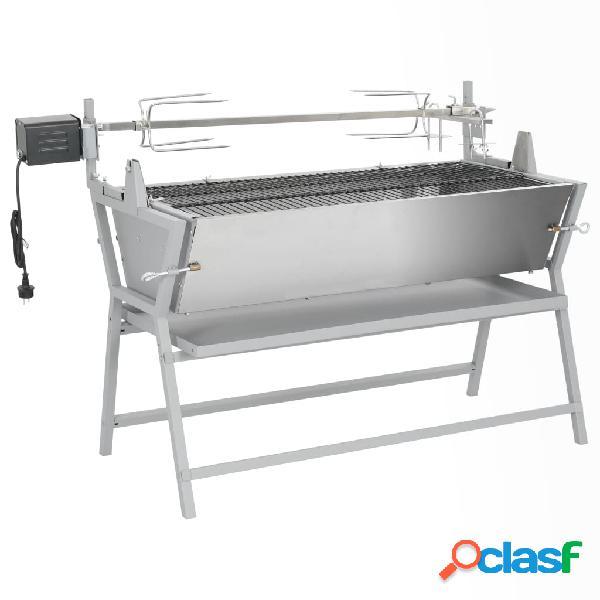 Vidaxl barbecue girarrosto in ferro ed acciaio 🥇 | Posot Class